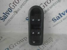 RENAULT MEGANE SCENIC DRIVER SIDE FRONT 4 WAY WINDOW SWITCH O/S/F