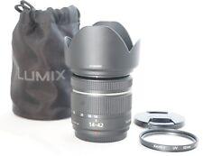 Panasonic Lumix G 14-42mm f3.5-5.6 Mega OIS Lente Negro