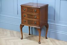 Vintage Reprodux Bevan Funnel Mahogany Small Chest of Drawers Bedside Cabinet
