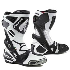 motorcycle boots | Forma Ice Pro racing white track motogp road riding tech gp