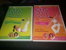 Yoga Booty Balletto DVD LOTTO DI 2 addominali & Core Forza scolpire totale tonificanti.