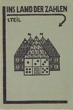 Müller Ins Land der Zahlen Mathematik Heft 1 Schulheft Klasse 2 1929