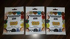 Disney Pins Tsum Tsum Star Wars Series 1 Mystery Packs 3 Packs SEALED