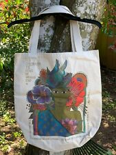 Laurel Burch Celebrating Women Canvas Tote - New w/o tags. VIntage