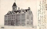 D56/ Willmar Minnesota Mn Postcard c1910 The High School Building
