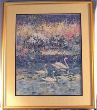 """C . James Frazier """" Mosaic Colors """" Framed Limited Edition print"""