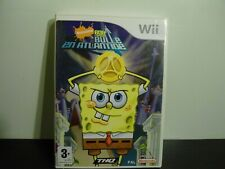 Wii : Bob L'éponge Bulle En Atlantide - PAL Complet.
