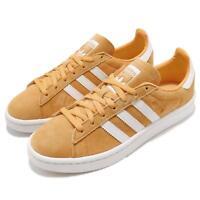 adidas Originals Campus W Chalk Orange White Women Casual Shoes Sneakers AQ1071