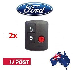 2x Ford Remote Control BA/BF Falcon Territory SX/SY/Ute/Wagon 02-10 3 Button