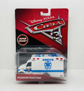 Disney Pixar Cars 3 Morgan Martins - Super Chase - Deluxe