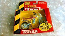 TONKA 31034 1999 KAWASAKI KLX250SR 2-WHEEL MOTORCYCLE MAISTO 1:18 DIE CAST NEW