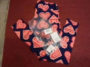 LuLaRoe NWT Valentine Leggings (TC2)