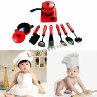 Portátil plástico Niños Niños Cocina Cocina Juguete Niñas Cocina De Juego Nuevo