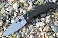 "Spyderco Manix 2 XL Folding Knife 3.88"" CPMS30V Steel Blade Black G10 Handle"