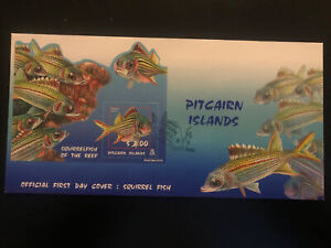 Pitcairn Islands 2003, FDC, Squirrel Fish M/S, Excellent Condition