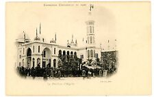 Paris France-LE PAVILLON d'ALGERIE-EXPOSITION UNIVERSELLE 1900-Postcard