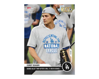 Corey Seager - MLB TOPPS NOW Card 444 - NLCS MVP after 5 HRS, 11 RBI in series