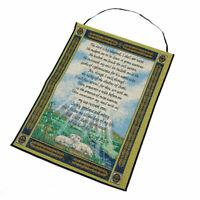 23rd Psalm The Lord is My Shepherd Inspirational Tapestry Banner Wall Hanging