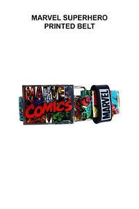 Marvel Superhero Printed Belt