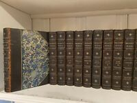 24 Vol. George Eliot The Complete Works Complete Set Illustrated Leather Marble