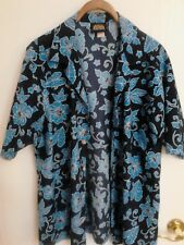 Men's Hawaiian Button Front Shirt Size Large By ODO