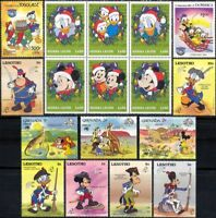 New for 2018 Disney Stamp Selection/ Superb Stocking Filler/Mickey/Minnie b1470h
