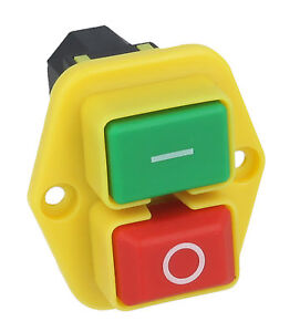 On / Off Switch Fits BELLE Cement Mixer Minimix 150 230v