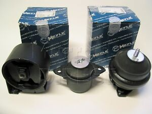 MEYLE Engine and Gearbox Mount Mounting Set VW Mk2 1.6 1.8 Jetta Golf GTI 8V