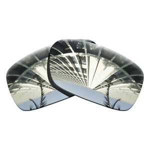 Chrome Mirrored Polarized Lenses Replacement For-Oakley Crankcase Anti-scratch