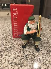 Rare Clothtique Possible Dreams - Harpsiclaus Santa, 713802