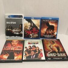 Lot of 6 Used DVD/Blue Ray Movies