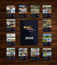 Kalendarz Śmigła w akcji 2020 13 stron format A3 nowość