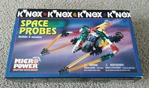 1997 Knex Micro Power Space Probes #11114 (New Old Stock)