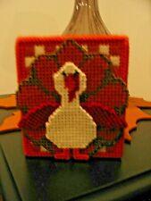 Thanksgiving Gobbler Turkey Tissue Box/Cover/Topper - Handmade - Finished Item