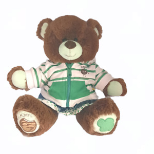 """2012 Build A Bear Girl Scouts Cookie Thin Mints Plush Outfit Hoodie & Skirt 14"""""""