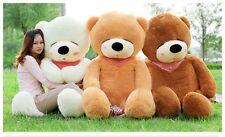 "78"" 200cm 6.5ft Giant Sleepy teddy Bear CASE NO PP COTTON Huge Stuffed Toys doll"