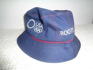 Roots USA 2004 Athens Summer Olympics Bucket Hat Size Medium