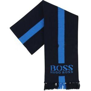 Hugo Boss Kids Light J01079/849 Cotton Scarf Navy