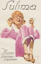 Ludwig Hohlwein - Farbige Werbegraphik 20er Jahre - Motiv Sulima Cigarette