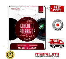 Marumi 72mm Fit Plus Slim Circular Polarizer Filter FTS72CIR (UK Stock)