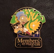 Disney Pin 27910~WDW~Jiminy Cricket Members are Magical DVC~Tree of Life~LE