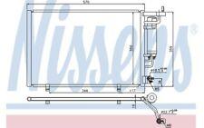 NISSENS Condensador, aire acondicionado FORD FIESTA B-MAX 940286