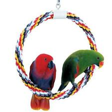 Parrot Bird Perch Booda Comfy Swing and Perch Toy Large