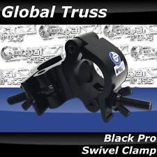 Global Truss Pro Swivel Clamp in Black Finish NEW!  Black Powder Coat Finish!