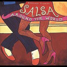 Salsa Latin Music CDs & DVDs
