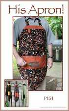 Vanilla House Designs His Apron Pattern #P151 Pattern FREE US SHIPPING