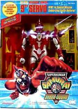 "Playmates Superhuman Samurai Syber-Squad 9"" Neutron Armor Servo Box Set 1994"