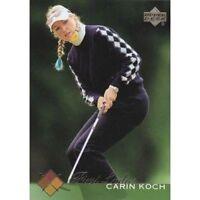 2 Different Carin Koch LPGA Golf ROOKIE 2003 Upper Deck cards FREE USA SHIP