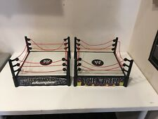 2 WWE Wrestling Mattel Hell in the Cell & Elimination Chamber Rings