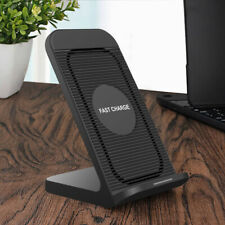 US 10W Qi Wireless Charger Dock Stand Cooling Fan For iPhone 12 12Pro 12mini 11